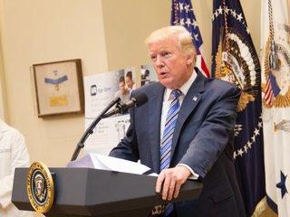 Trump won't rule out intervention in Venezuela