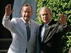 Former presidents Bush rebuke Trump's statements