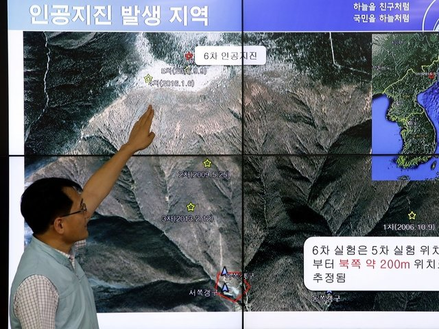 United States options on North Korea limited after test