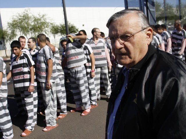 DOJ Agrees With Arpaio And Says His Case Should Be Dismissed