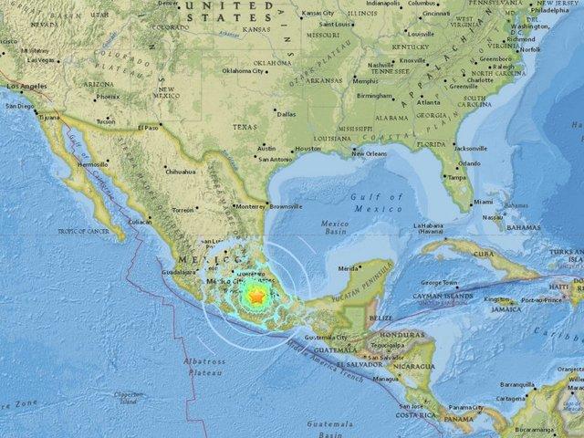 Social Media Reacts To Earthquake Near Mexico City News - San diego us map close to mexico