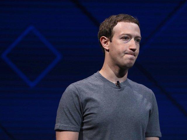 Facebook founder Mark Zuckerberg denies it is biased against Donald Trump