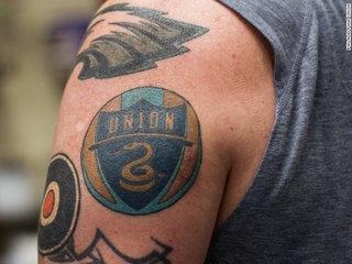 MLS team has squad tattoo artist