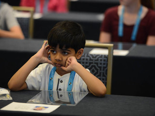 8-year-old back for 2nd Scripps Bee