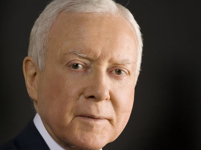 Republican Sen. Orrin Hatch of Utah is the chairman of the Senate Finance Committee.                       unknown