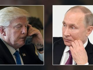 Trump sanctioning Russia for election meddling
