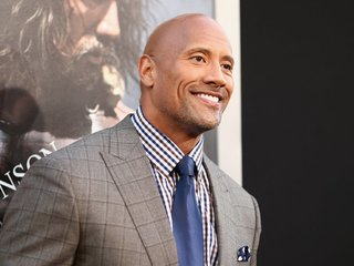 'The Rock' receives Hollywood Walk of Fame Star