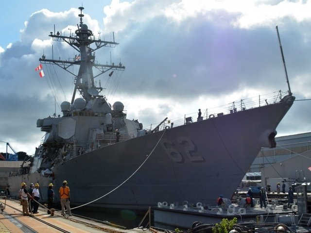 Navy files negligent homicide charges against former Fitzgerald, McCain commanders
