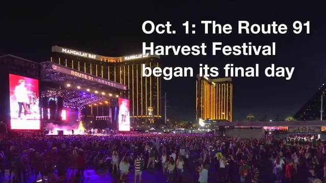 Las Vegas Mass Shooting Timeline