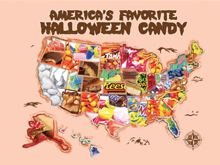 Halloween candy map: Which is your state's fave?