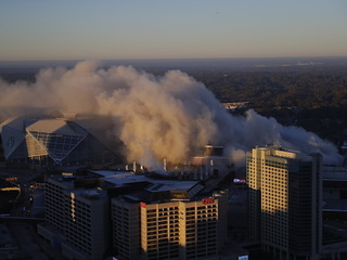 Georgia Dome implodes after 25 years