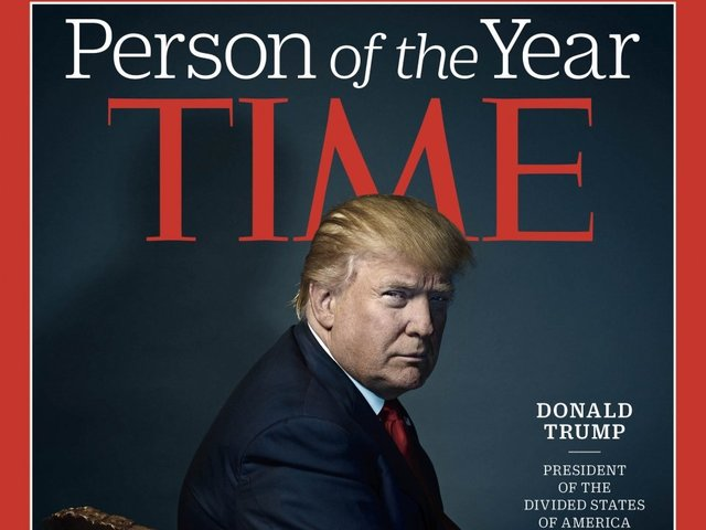 Trump Says He Turned Down 'Person Of The Year.' Time Disagrees