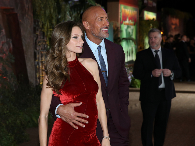 'The Rock' and girlfriend are having a girl