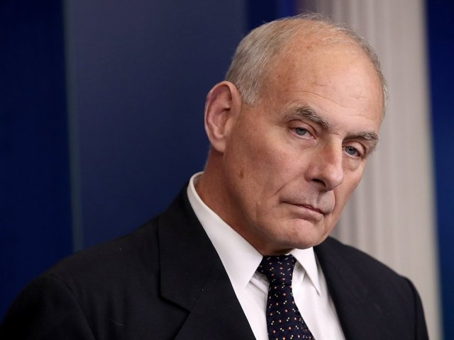 John Kelly Jokes That 'God Punished' Him With Trump White House Job