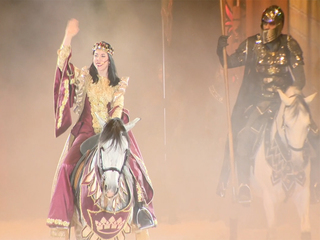 Queen now reigns at Medieval Times