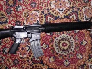 US assault rifles for sale on jihadist forums
