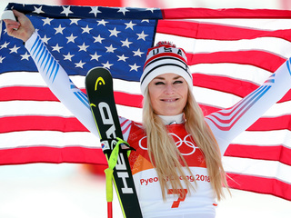 Lindsey Vonn takes bronze in Olympic downhill