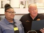 Waitress' kind act earns her a scholarship