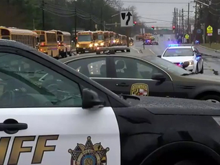 Two injured, gunman dead in school shooting