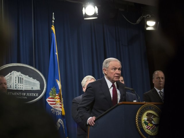 Sessions told White House that Rosenstein's firing could prompt his departure, too