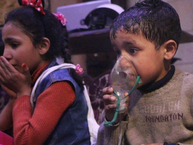 Syria repositions air assets as Trump hints at war