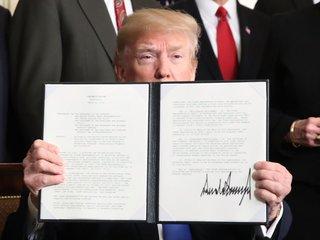 Trump enacts steel and aluminum tartiffs