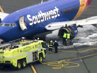 Crack in Southwest engine being investigated