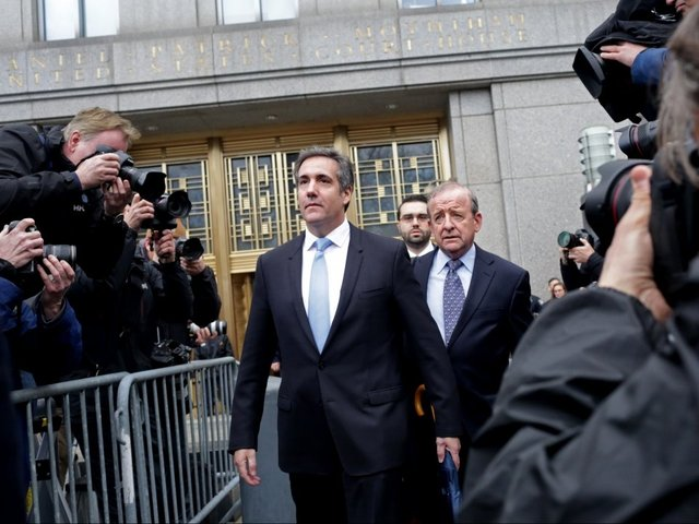 Trump's lawyer Cohen says to invoke constitutional rights in porn star case
