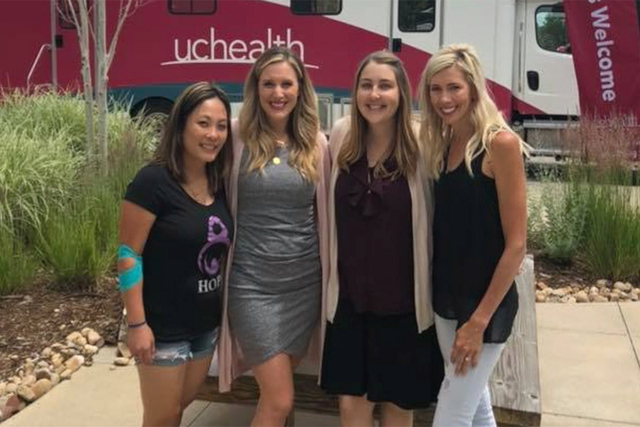Childbirth survivors come together to give blood and give back