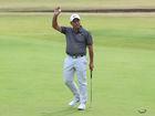 Molinari wins Open as Tiger Woods falls short