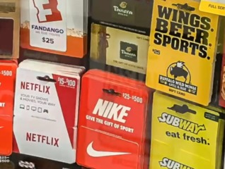 Don't fall victim to the gift card scam