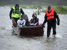 Hurricane Florence trudging across the Carolinas