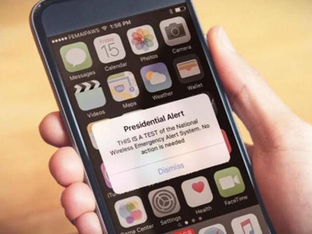 'Presidential Alert': FEMA to test emergency alert system ...