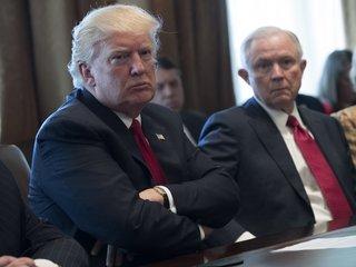 Trump criticizes Attorney General Jeff Sessions