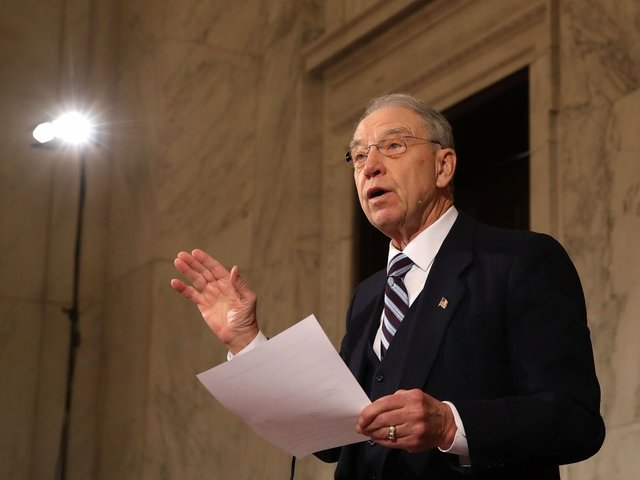 Grassley pushes Ford to talk to committee