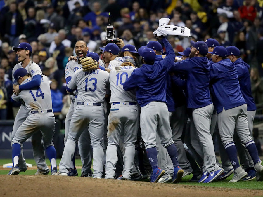 Gas Prices San Diego >> LA Dodgers down Milwaukee Brewers; Dodgers head to World Series - 10News.com KGTV-TV San Diego