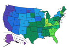 Map: What time do the polls close in your state?