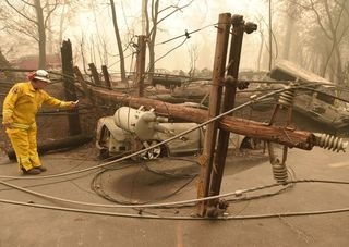 PG&E could be hurt if liable for Camp Fire